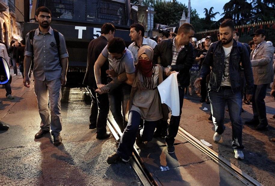 Protest na ulicach Somy po katastrofie w kopalni /ULAS YUNUS TOSUN /PAP/EPA