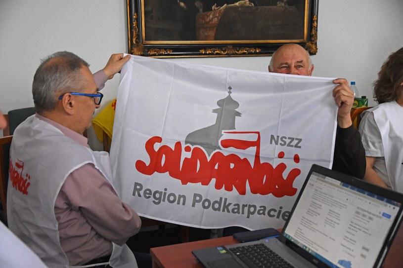 Protest okupacyjny w krakowskim kuratorium /Jacek Boroń /Reporter