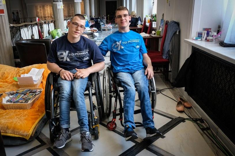 Protest osób niepełnosprawnych w Sejmie trwał 40 dni /Jacek Domiński /Reporter