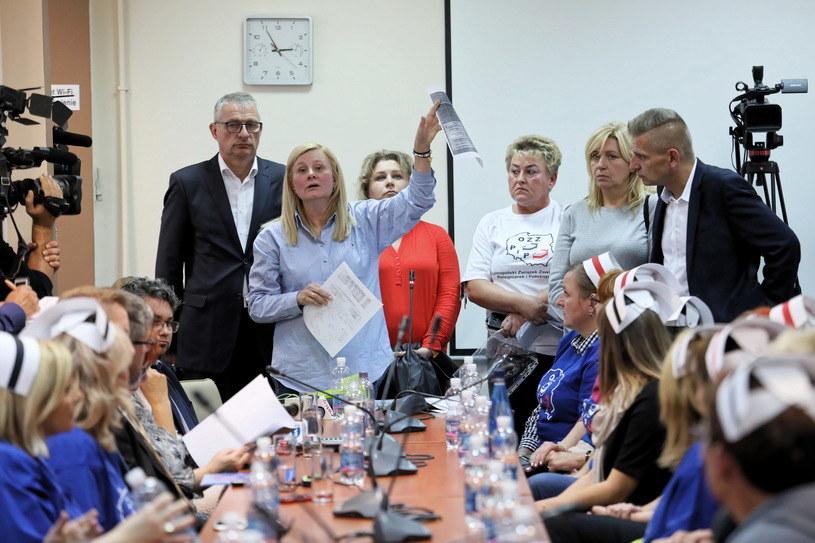 Protest pielęgniarek trwał od 3 września / Leszek Szymański    /PAP
