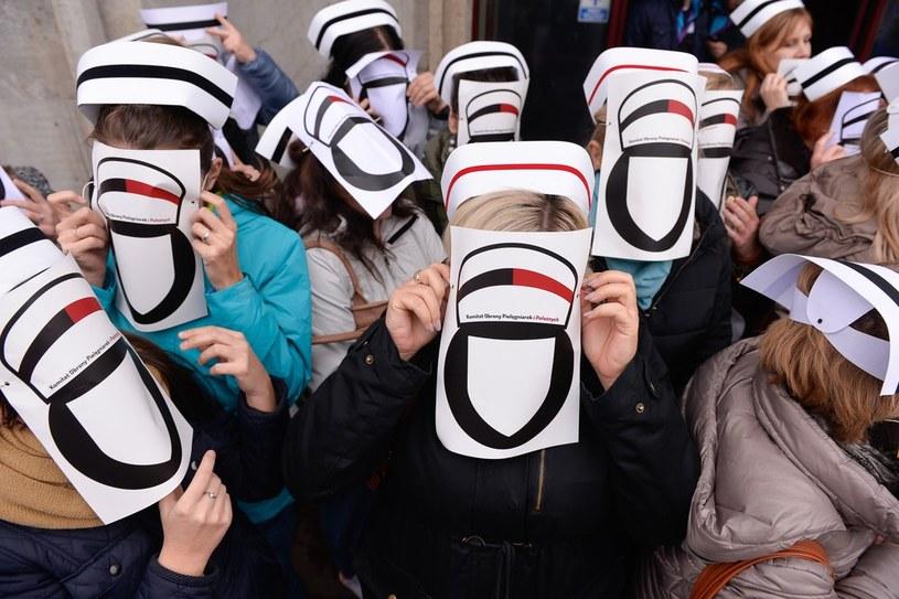 Protest pielęgniarek, zdj. ilustracyjne /Przemek Świderski /East News