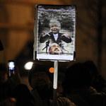 Protest pod Pałacem Prezydenckim. Duda spotkał się z uczestnikami