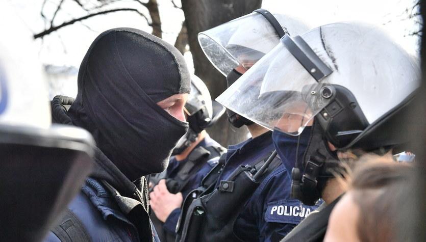 Protest podczas obchodów 11. rocznicy katastrofy smoleńskie