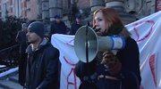 Protest przeciwko ACTA w Szczecinie