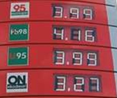 Protest przeciwko cenom paliw