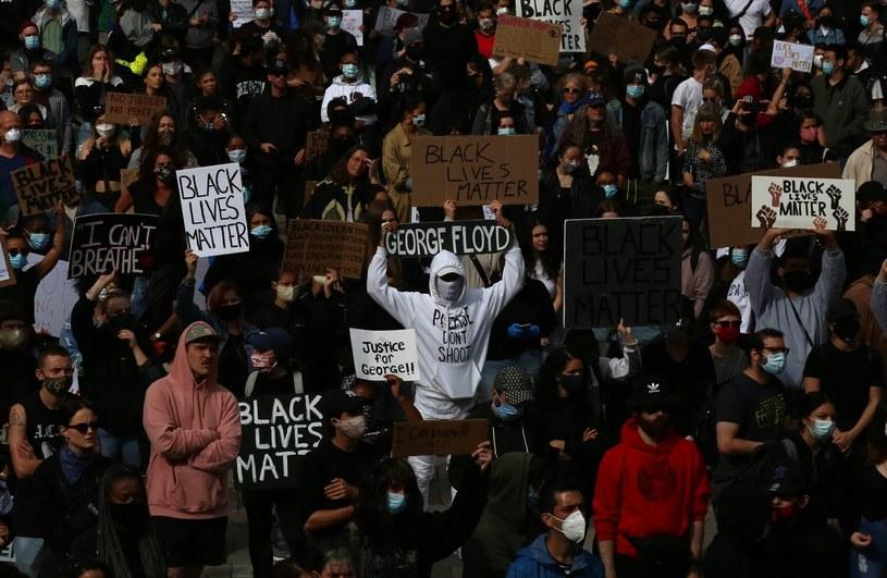 Protest przeciwko rasizmowi w Vancouver. /Newspix