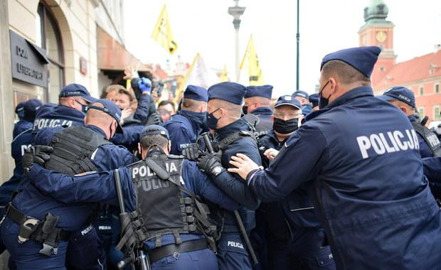 Protest przedsiębiorców. Ponad 380 osób zatrzymanych