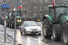 Protest rolników w Szczecinie. Centrum miasta zablokowane