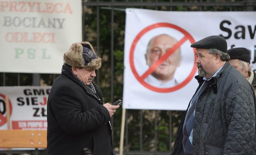 Protest rolników /Bartłomiej Zborowski /PAP