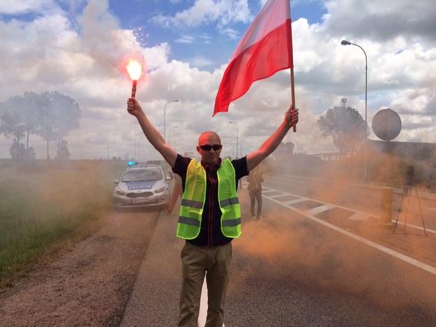 Protest rybaków /Kuba Kaługa /RMF FM