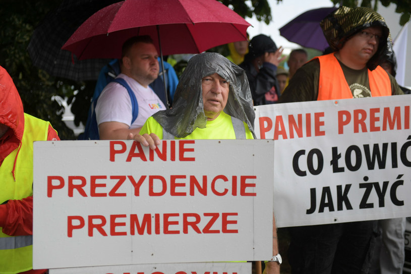 Protest rybaków /Piotr Hukalo/East News /East News