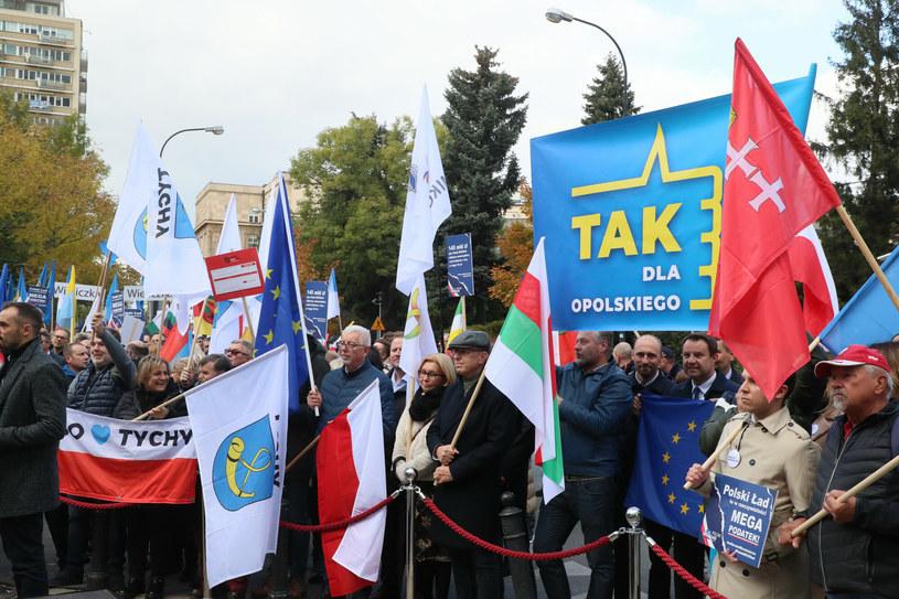 Protest samorządowców /Piotr Molecki /East News