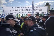 Protest służb mundurowych. Jest porozumienie jest porozumienie z MSWiA