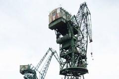 Protest stoczniowców z Gdańska