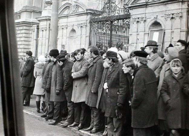 Protest studentów w marcu 1968 roku /IPN /East News