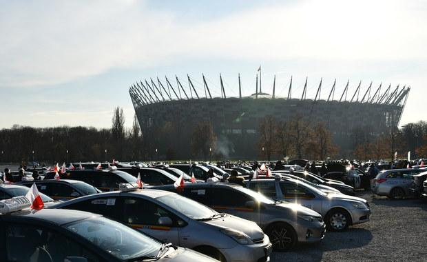 Protest taksówkarzy. Mają petycję do Jarosława Kaczyńskiego