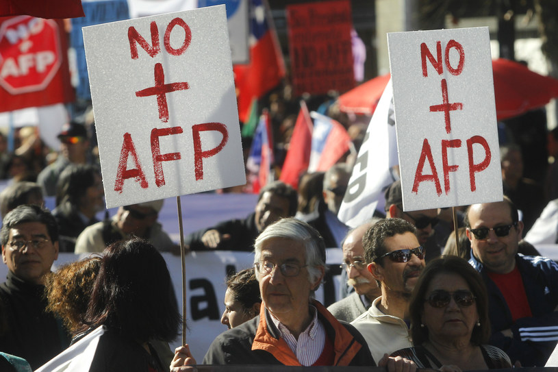 Protest w Chile /AFP