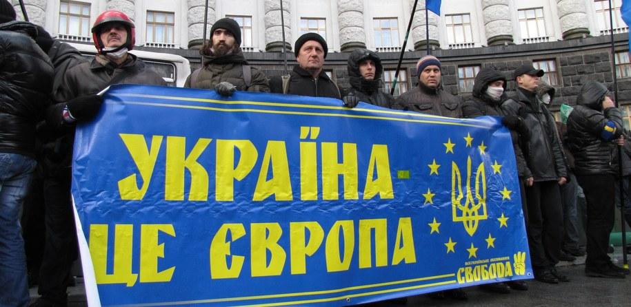 Protest w Kijowie trwa już ponad 2 tygodnie /Przemysław Marzec /RMF FM