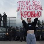 Protest w Mińsku w urodziny Łukaszenki. MSW Białorusi mówi o 140 zatrzymanych