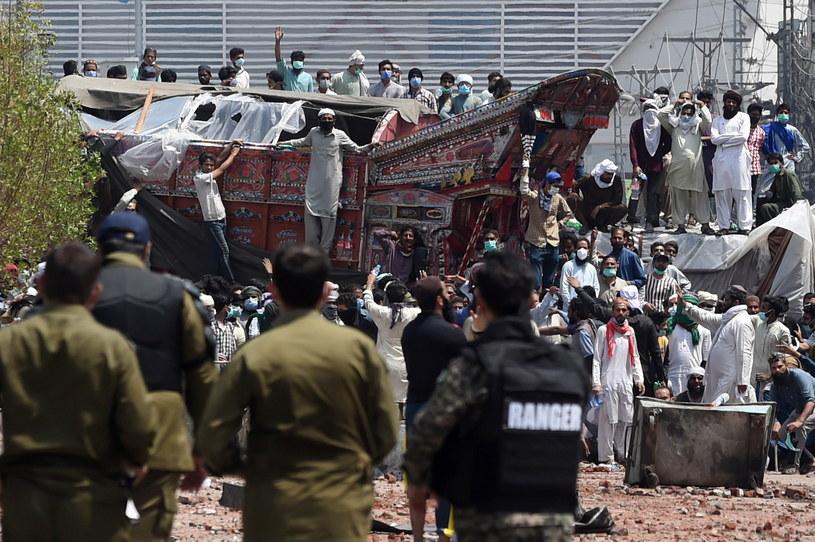 Protest w Pakistanie /PAP