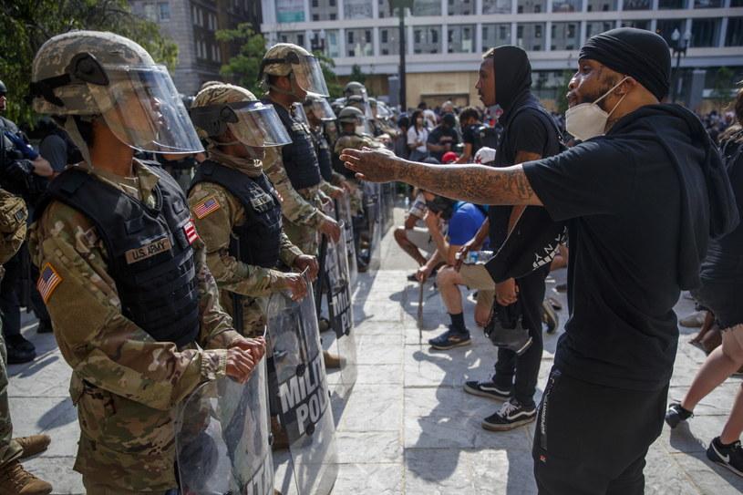 Protest w pobliżu Białego Domu /SHAWN THEW    /PAP/EPA