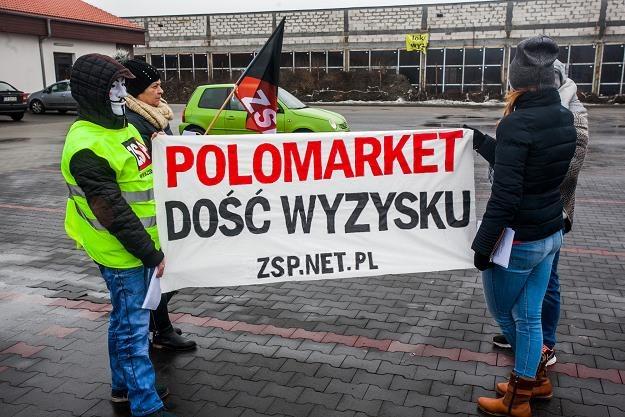 Protest w Polo Market trwał kilka lat. FOT. FILIP KOWALKOWSKI /Agencja SE/East News