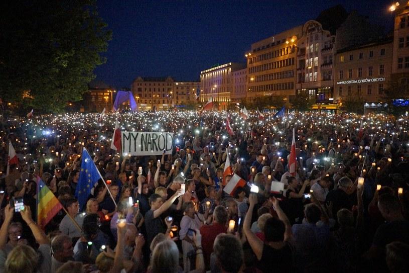 Protest w Poznaniu /Grzegorz Dembiński / Polska Press /East News