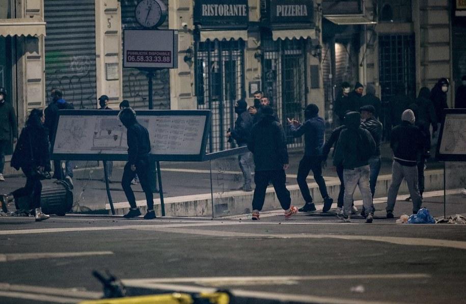 Protest w Rzymie /GIUSEPPE LAMI /PAP/EPA
