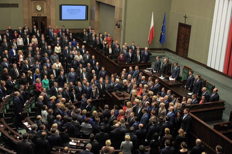 Protest w Sejmie rozpoczął się 16 grudnia /Jan Bielecki /East News