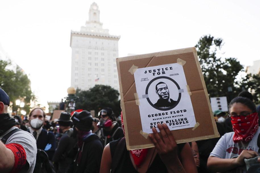 Protest w stanie Kalifornia /JOHN G. MABANGLO /PAP/EPA