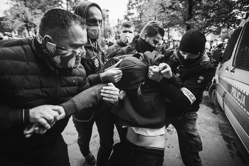 Protest w Trójmieście /Karol Makurat /Reporter