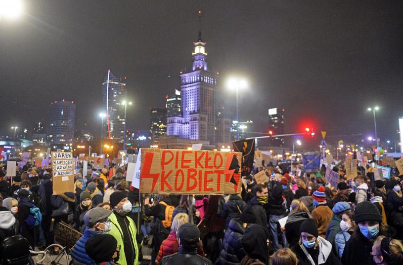 Protest w Warszawie /Jan Bielecki /East News