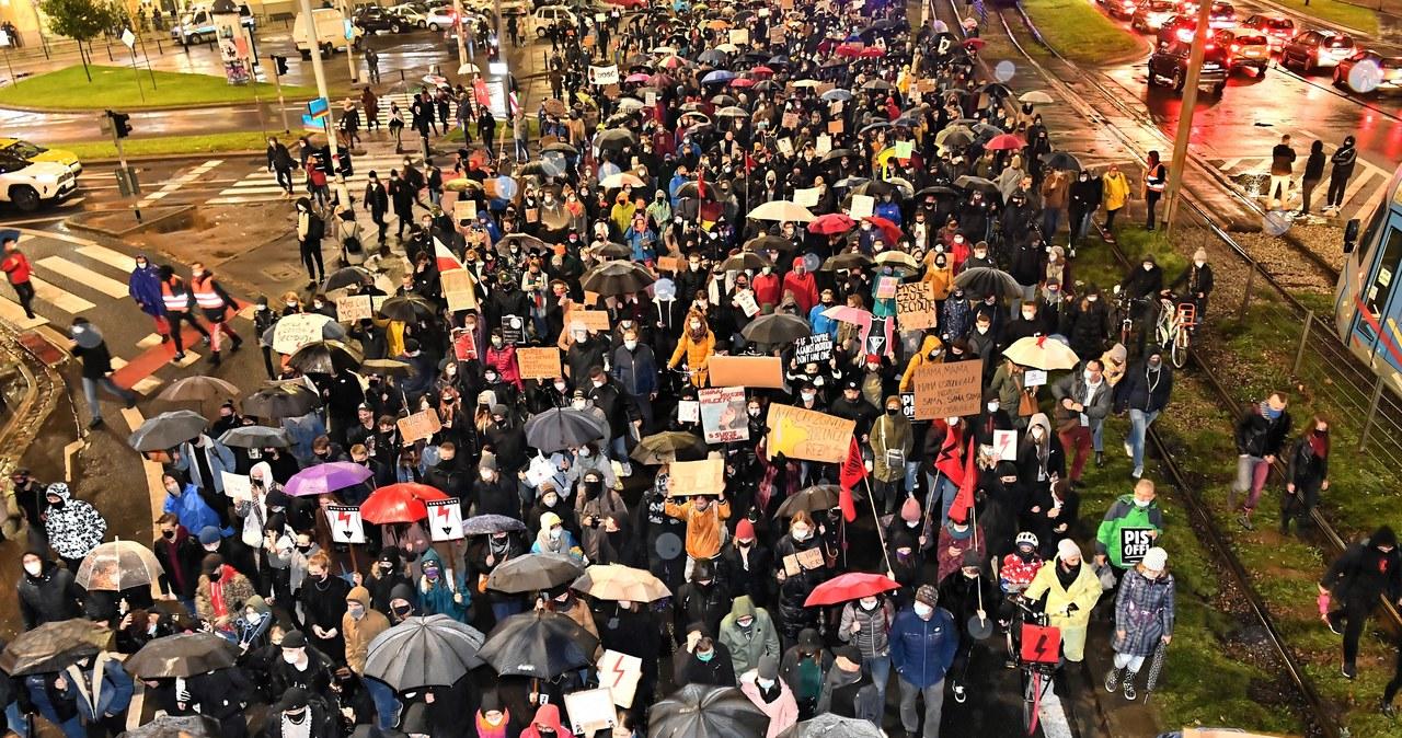 Protest we Wrocławiu