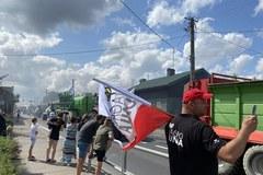 Protest zorganizowany przez AgroUnię