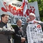 Protest związkowców przeciw propozycjom emerytalnym rządu