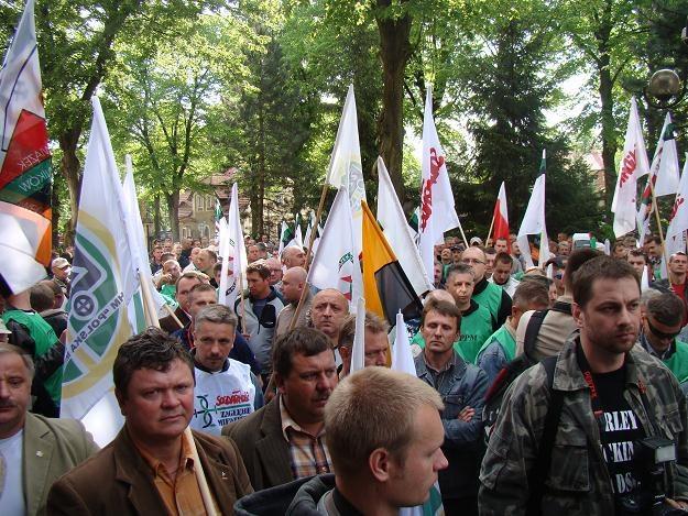 Protestem związkowców w KGHM zajmie się prokuratura /INTERIA.PL