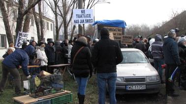 Protestowali, bo mają dość wysypiska