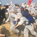 Protestowali przeciwko kopalniom odkrywkowym. Interwencja policji
