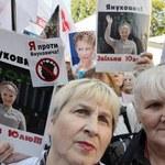 Protestująca Tymoszenko spędziła noc w szpitalnej łazience