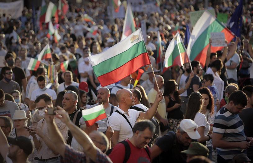 """Protestujący ogłosili środę dniem """"Wielkiego Powstania Narodowego"""" /AP Photo/Valentina Petrova /East News"""