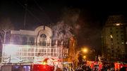 Protestujący podpalili ambasadę Arabii Saudyjskiej