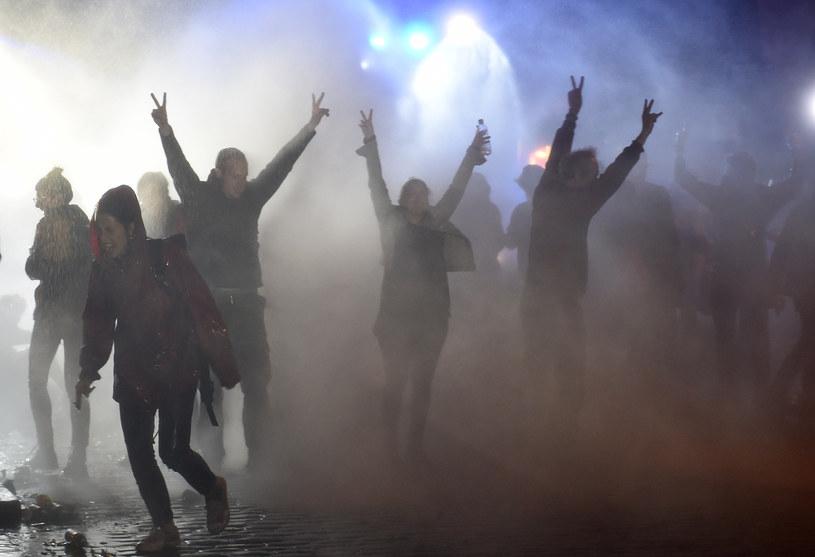 Protestujący w Hamburgu /AFP
