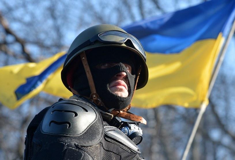 Protestujący w Kijowie /AFP