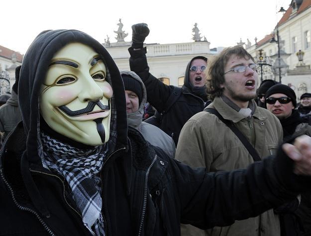 Protestujący w sprawie ACTA osiągnęli swój cel /AFP