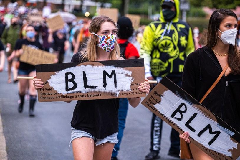 Protestujący wspierający akcję Black Lives Matter /AFP