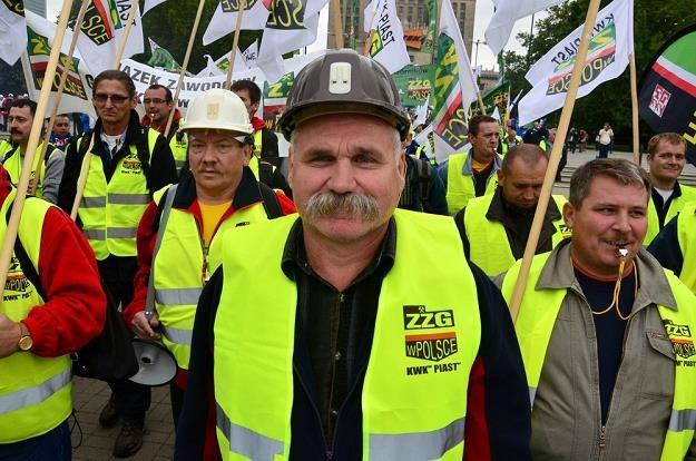 Protesty górników przed nami... Fot. MARIUSZ GACZYŃSKI /Agencja SE/East News