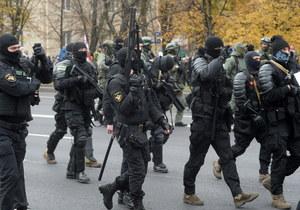 Protesty na Białorusi. Mińsk: Marsz na uroczysko Kuropaty. Policja oddała strzały ostrzegawcze