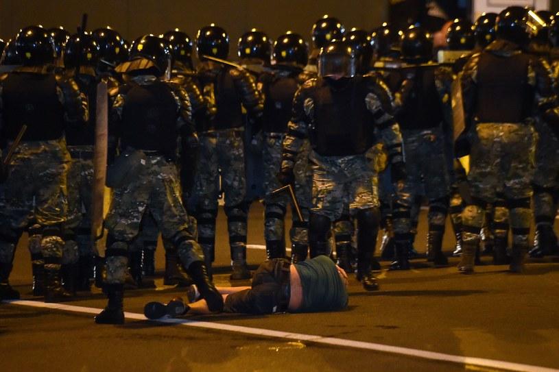 Protesty na Białorusi po wyborach prezydenckich /AFP