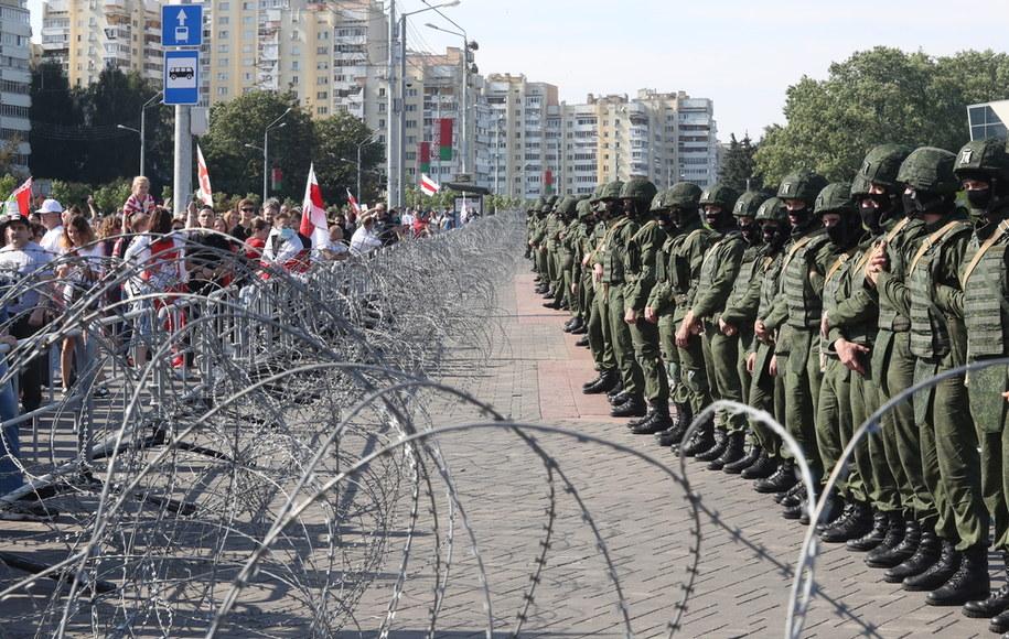 Protesty na Białorusi. Zdjęcie ilustracyjne /STRINGER /PAP/EPA