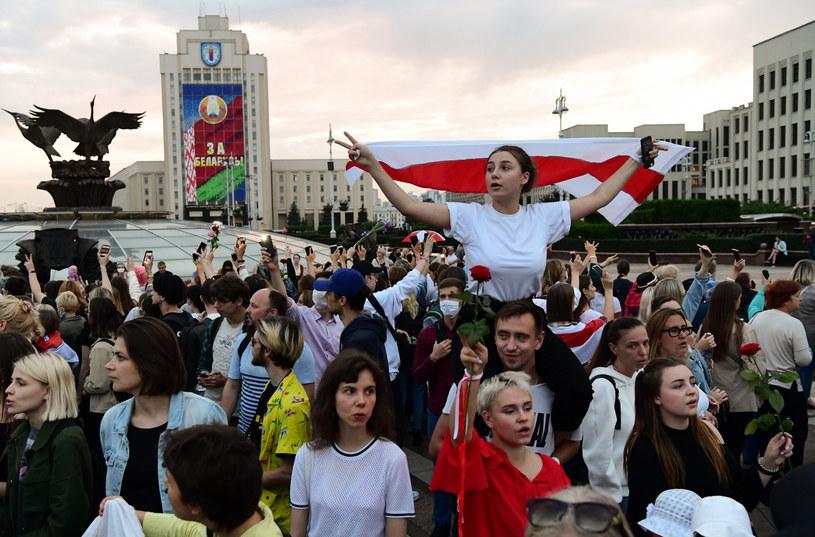 Protesty na Białorusi, zdjęcie ilustracyjne /SPUTNIK Russia/East News /East News